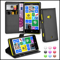 Premium Wallet Leather Moblie Phone Case Cover for Nokia Lumia 625