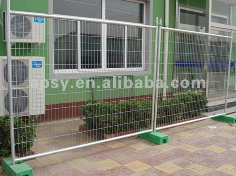Temporary fence panel/ Hot-dip galvanized mesh/manufacturer