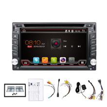 Android Car DVD CD Cassette GPS Player with Reverse Camera Metal Frame Wifi