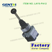 SPST 2 N.O. NO 2 Position Self-locking Type Monolever Joystick Switch
