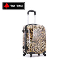 High quality ABS spinner printed trolley suitcase sets hard shell case luggage