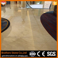 Competitive price Spanish grade a cream marfil marble for tiles