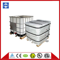 electrical heating pad for IBC container