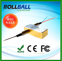 High performance singlemode Optical Switch rollball's hot product 2x2 optical switch