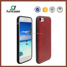 Wholesale leather smart phone case custom heavy duty case for iphone 6