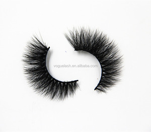 High Sale Pure Hand Made 100% 3d mink false lashes with custom box