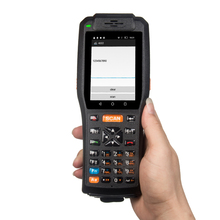 IP65 Rugged Handheld Android Smart Mobile Data Terminal With Printer
