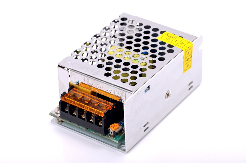 LED switching power supply 12V 25W wide voltage high quality aluminum shell power strong pressure resist by WISTRUN