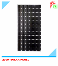 Good price Monocrystalline 200 watt solar panels