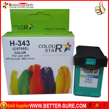 C8766E remanufactured compatible hp 343 ink cartridge on promotion from BetterSure Technology for hp ink cartridge