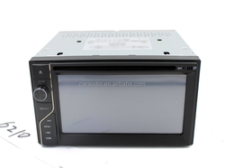 New arrival car radio 2 din car dvd/Universal double din 6.2 inch car dvd player