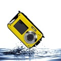24MP Waterproof Camera Digital 1080P HD Professional Digital Camera With Dual Display