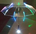 Popular led light umbrella market umbrella