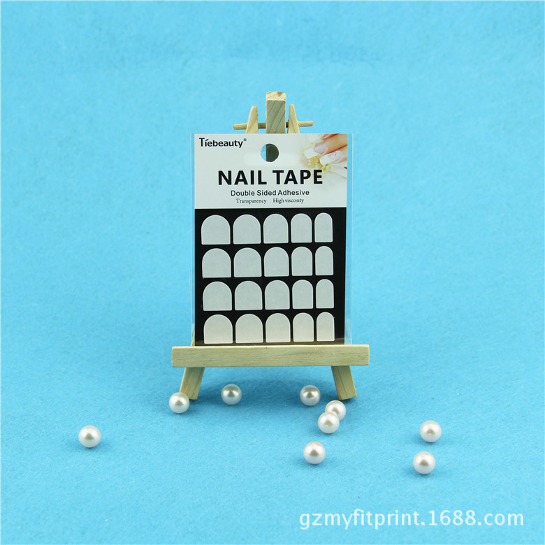 New product Double side glue for fake nail tip 3M Doulble Side Glue Nail Sticker