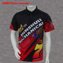 cudtom motorcycle racing crew shirts suits