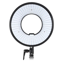 DVR-300D Photo Studio Equipment LED Ring Light Photography 300 LEDs CRI 95 + 5500K LED Video Light for DSLR Camera Camcorder