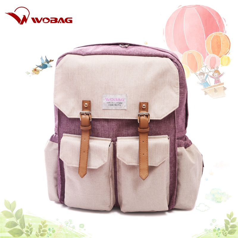 Muti-function baby diaper bag baby nappy changing bag mom bag