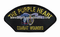 US PURPLE HEART Combat Wounded Embroidered Patch