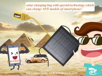 2016 New Products 3W 9V USB Laptop Solar Charger With Special USB Female Port