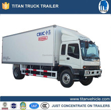 Refrigeration unit for refrigerated box truck