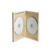 Personalised Wooden CD case wedding DVD box