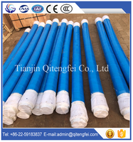 Sermac DN125 low price and good quality concrete pump rubber hose (Double ends,4plies wire)