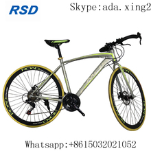 "high quality aluminum 26"" road bike with double disc brake/new design racing bicycle with 40mm road bicycle in stock for sale"