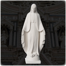 Alibaba Hot Selling White Marble Mary Statue Of Virgin Mary