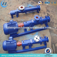mono progressive cavity Single screw pump heavy duty slurry pumps irrigation pump