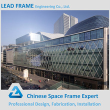 Easy to Install Metal Building Space Frame Shopping Mall with Large Span Roofing