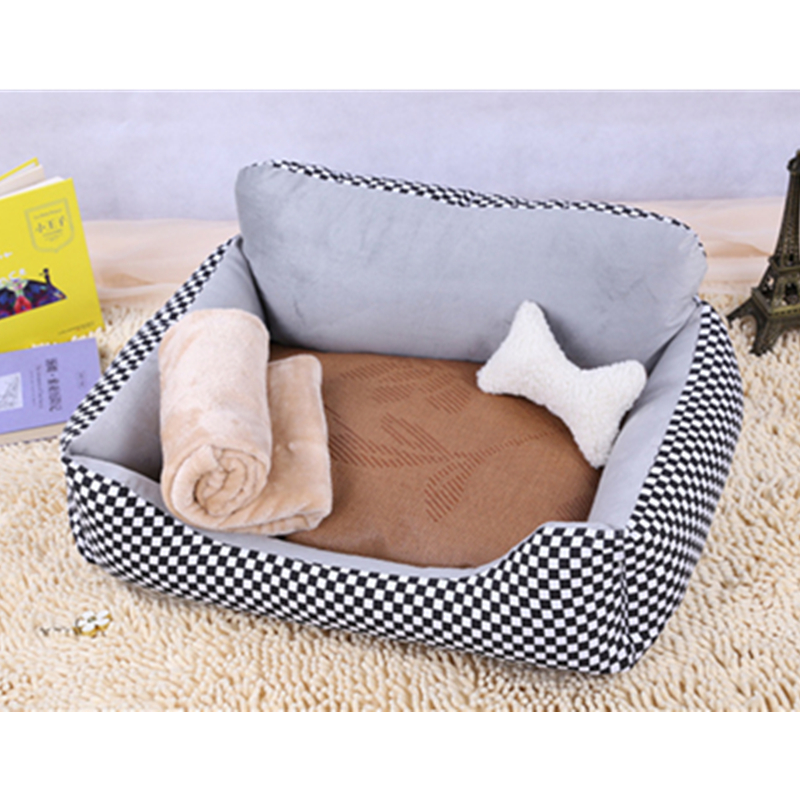 Best Quality Pp Cotton Cat Bed Dog Pillows Kennel Pet Couch For Winter