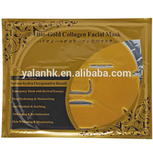 24K Anti-Wrinkle Bio Collagen Mask Gold With GMPC ISO MSDS Certificates