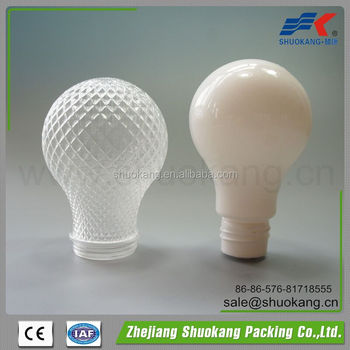 IBM mold for PS plastic lamp bulb