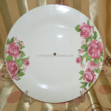 wholesale ceramic dishes/ceramic dinner plate/cermaic soup plate with full decoration/Sunn133Jenny