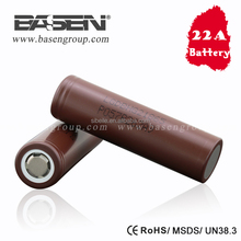 LG 18650 HG2 3.7v rechargeable battery 3000mah 20A high discharge rate li ion battery cell LGDBHG21865