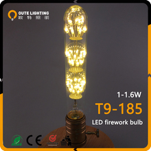 Wholesale Hanging Vintage Industrial 1.5W 1.8W Firework T185 E27 Led Edison Light Bulb