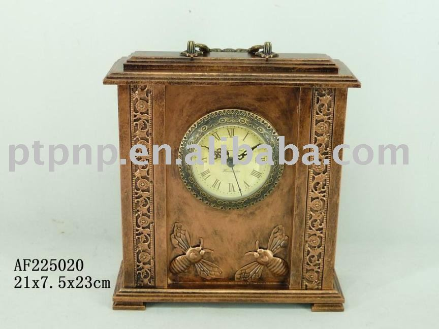 archaize wood clock