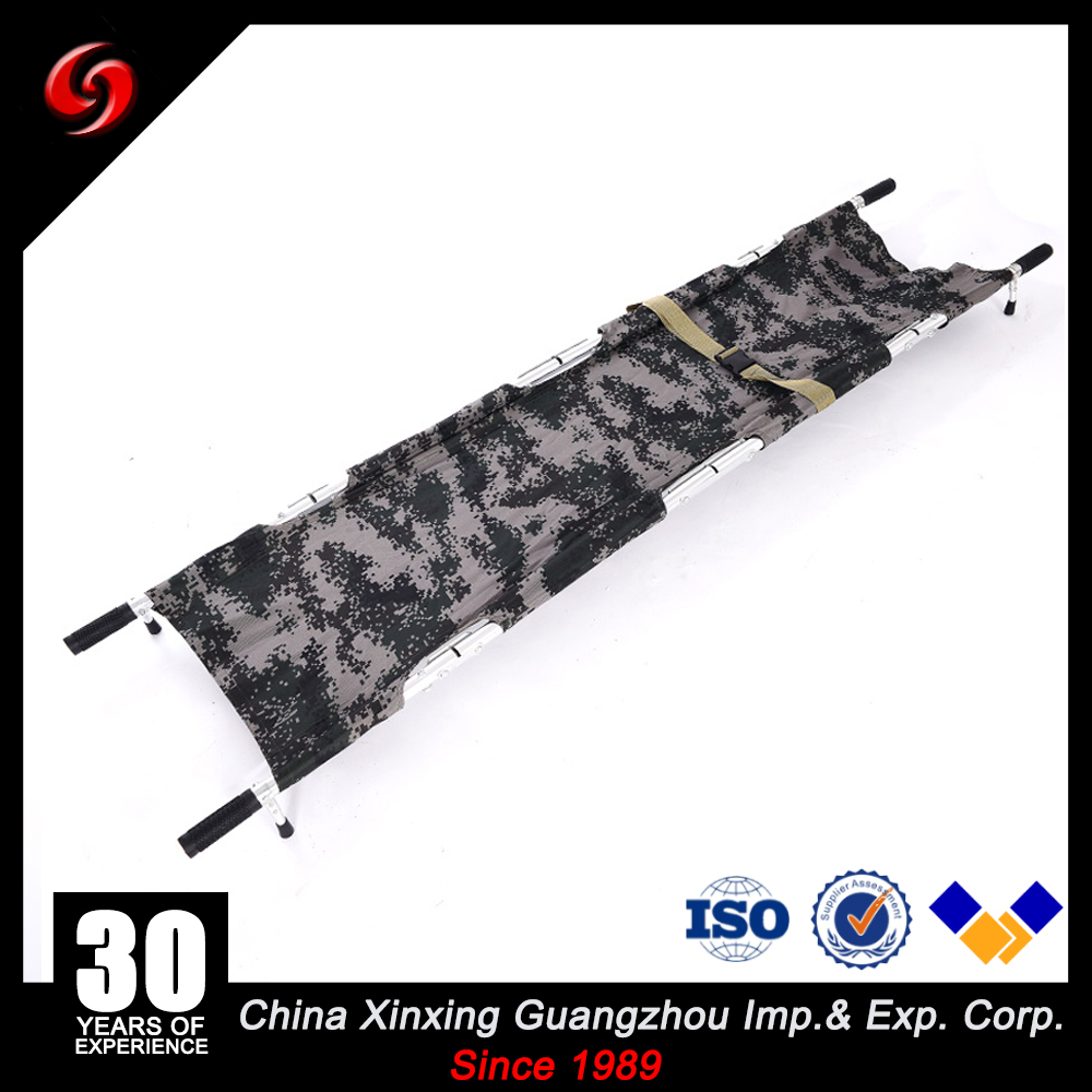 aluminium alloy camo double folding military tactical stretchers war stretchers for woundeds outdoor medical army