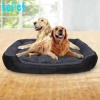 private label dog bed design soft warm cozy luxury pet dog bed wholesale