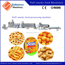 high quality puffed corn snacks food maker machinery