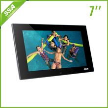 7 Inch Mini Wholesale Stand Digital Photo Frame 7 inch Battery Digital Photo Frame AD Player
