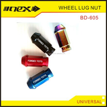 MADE IN TAIWAN PERFORMANCE CNC ALUMINUM COLORED WHEEL LUG NUTS