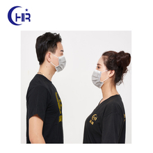 nonwoven clay face mask with nose clip
