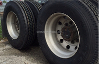 radial truck tire 11R24.5 latest japan technology with DOT SMARTWAY