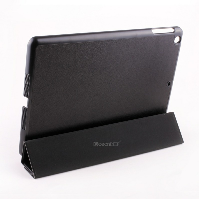 Laptop pu leather covered smart cover for apple ipad air leather case alibaba express new product for 2014