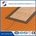 1.5mm thickness PP and PE composite dampproof membrane