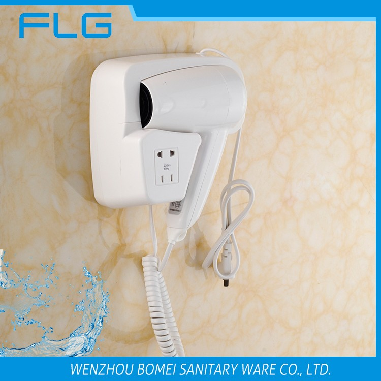 BM2101B ABS Hotel 1200W Professional Wall Mounted Hair Dryer