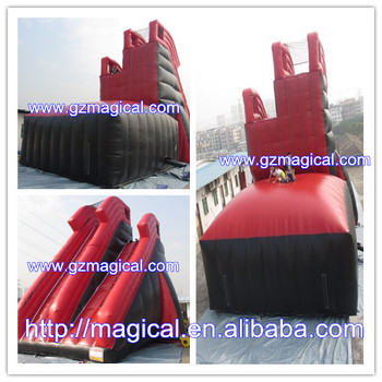 Top CE certificate Inflatable Xtreme Jumping slide