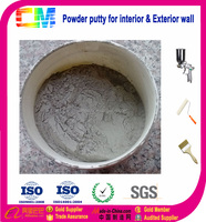 White powder concrete wall putty