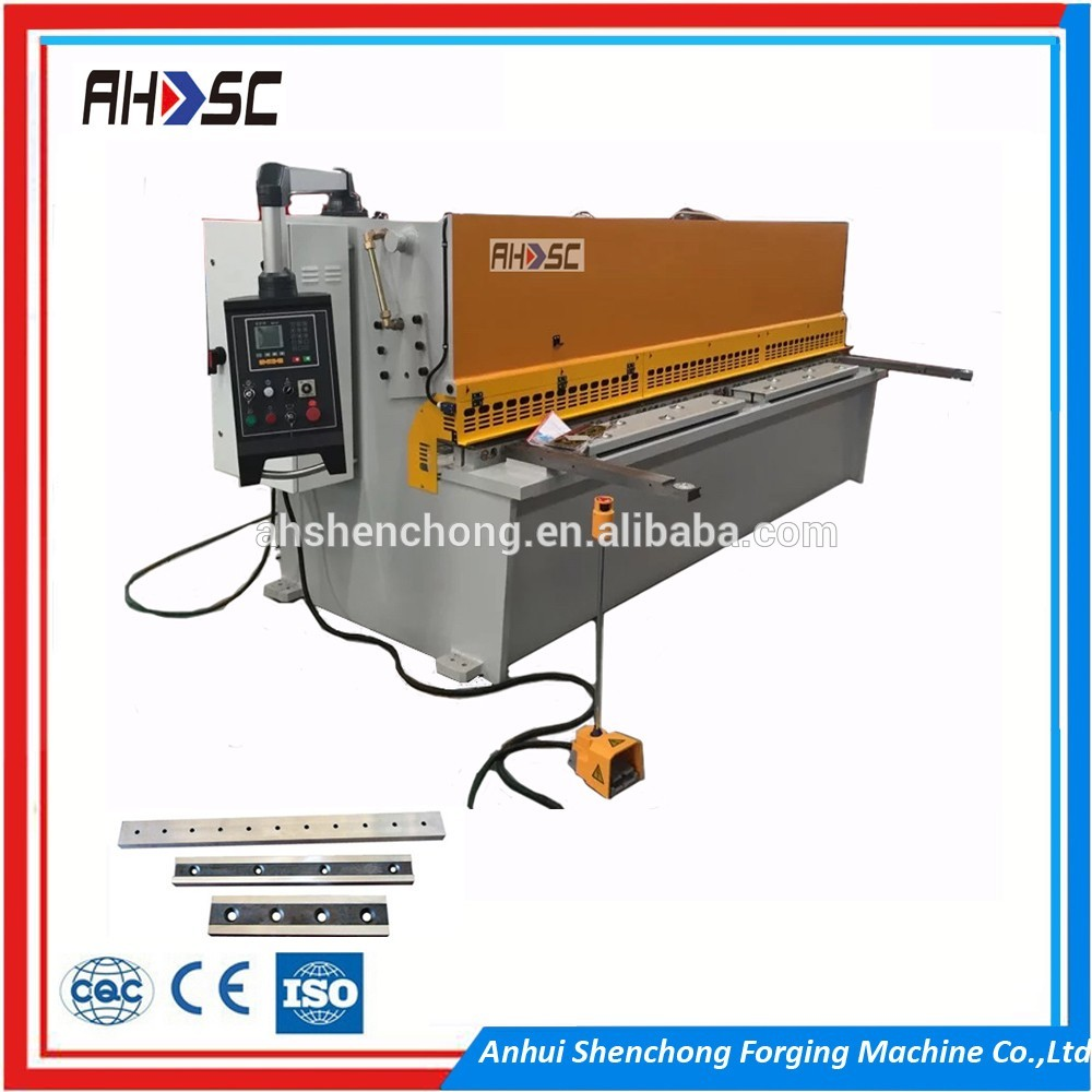 QC12Y-4X2500 guillotine for sheet metal cutting